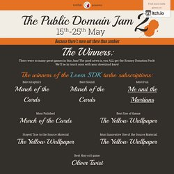 The Public Domain Jam