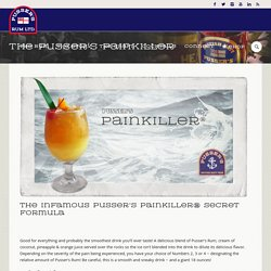 The Pusser's Painkiller - Pusser's Rum Ltd.