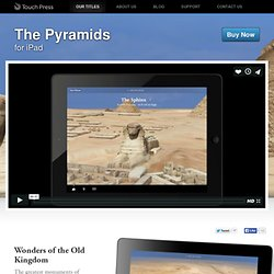The Pyramids iPad app – Touch Press