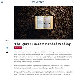 The Quran: Recommended reading