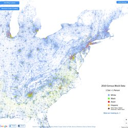 [Carto] The Racial Dot Map: One Dot Per Person for the Entire U.S.
