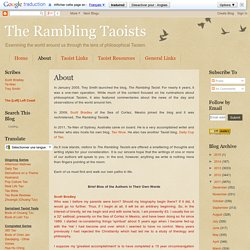 The Rambling Taoists: About