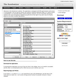 The Randomizer