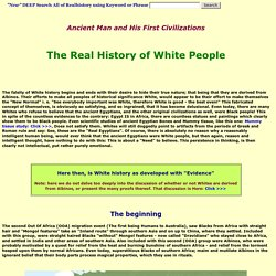 The Real History of White People