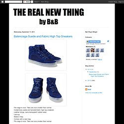 THE REAL NEW THING by B&B