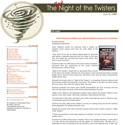 The Real Night of the Twisters