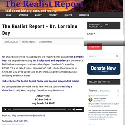 The Realist Report – Dr. Lorraine Day – The Realist Report
