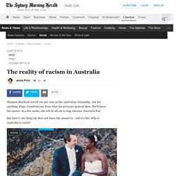 The reality of racism in Australia