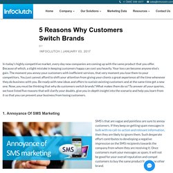 The Top Reasons For Switching Brand