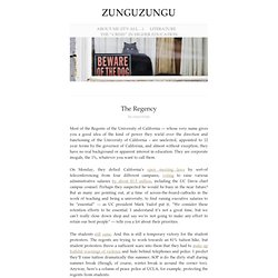 The Regency « zunguzungu