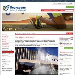 La Région et le sport (La Région en actions / Cadre de vie / Sport)