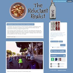 The Reluctant Realist Blog