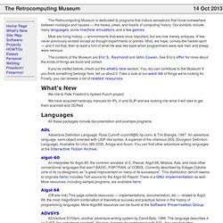 The Retrocomputing Museum