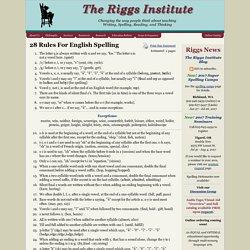 The Riggs Institute