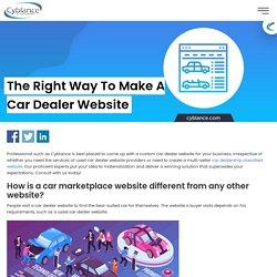 Build a Car Dealer Website