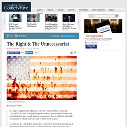 The Right & The Unnecessariat