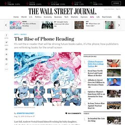 The Rise of Phone Reading