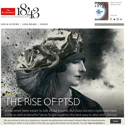 The rise of PTSD