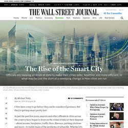 The Rise of the Smart City - WSJ