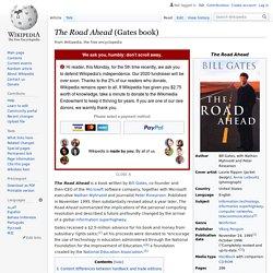 The Road Ahead (Gates book)