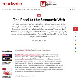 The Road to the Semantic Web