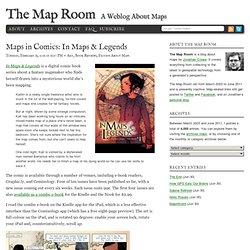 Maps in Comics: In Maps & Legends