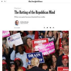 The Rotting of the Republican Mind