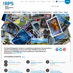 The Royal Photographic Society - The Royal Photographic Society