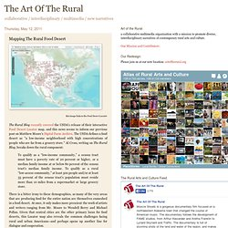 Mapping The Rural Food Desert