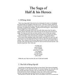 The Saga of Half and His Heroes