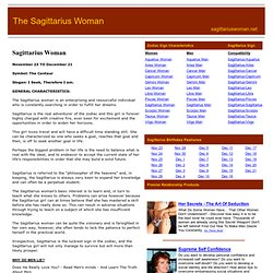 The Sagittarius Woman