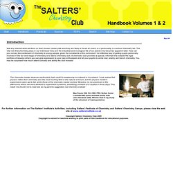 The Salters' Chemistry Club