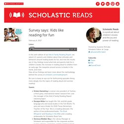 The Scholastic Reads Podcast