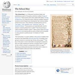 The School Boy - Wikipedia