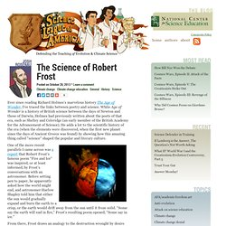 The Science of Robert Frost