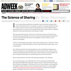 The Science of Sharing