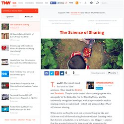 The Science of Sharing - Social Media