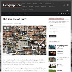 The science of slums