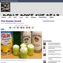 The Scooby Snack - Don't Poke The Bear