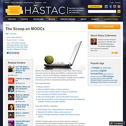The Scoop on MOOCs