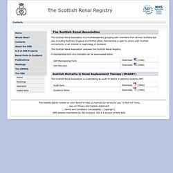 The Scottish Renal Registry
