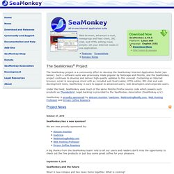 The SeaMonkey® Project