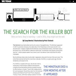 The search for the killer bot