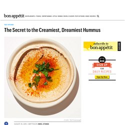 The Secret to the Best Hummus Ever