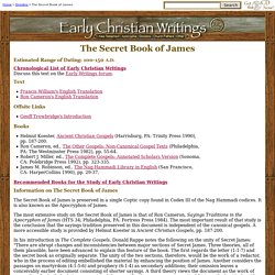 The Secret Book of James