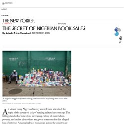 The Secret of Nigerian Book Sales