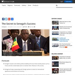 The Secret to Senegal's Success