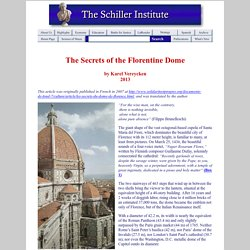 The Secrets of the Florentine Dome