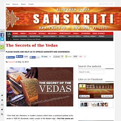 The Secrets of the Vedas