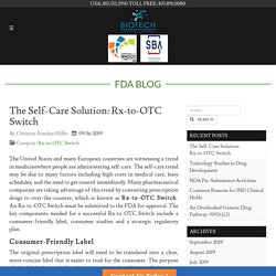 The Self-Care Solution: Rx-to-OTC Switch